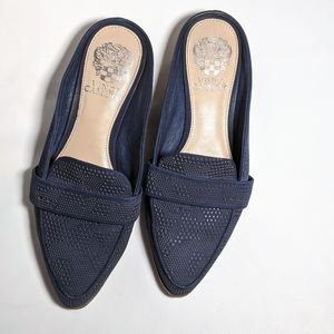 Vince Camuto blue Slip-on Loafers
